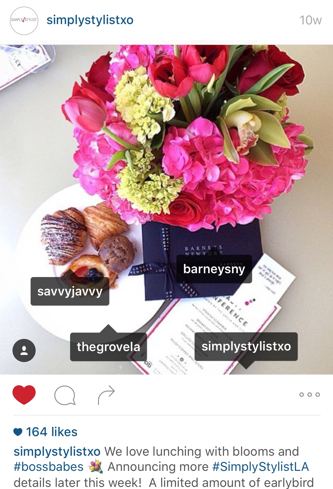 Simply Stylist Conference Instagram