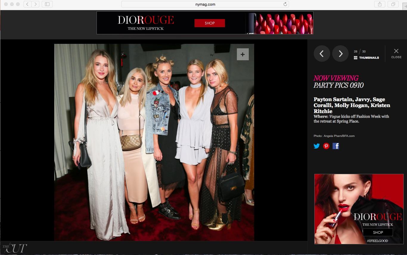 NY Mag- The Cut: Vogue Retreat