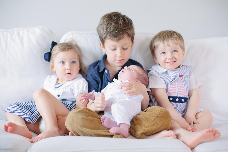 Newborn Session + Siblings (Washington, D.C.)