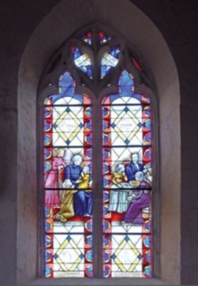 "The stained-glass window dedicated to the Martin family in the church of St. Symphorien des              Bruy è res in the province of Orne, France.         Normal   0           false   false   false     EN-US   X-NONE   X-NONE                                                                                                                                                                                                                                                                                                                                                                           /* Style Definitions */  table.MsoNormalTable 	{mso-style-name:""Table Normal""; 	mso-tstyle-rowband-size:0; 	mso-tstyle-colband-size:0; 	mso-style-noshow:yes; 	mso-style-priority:99; 	mso-style-parent:""""; 	mso-padding-alt:0in 5.4pt 0in 5.4pt; 	mso-para-margin-top:0in; 	mso-para-margin-right:0in; 	mso-para-margin-bottom:10.0pt; 	mso-para-margin-left:0in; 	line-height:115%; 	mso-pagination:widow-orphan; 	font-size:11.0pt; 	font-family:""Calibri"",""sans-serif""; 	mso-ascii-font-family:Calibri; 	mso-ascii-theme-font:minor-latin; 	mso-hansi-font-family:Calibri; 	mso-hansi-theme-font:minor-latin; 	mso-bidi-font-family:""Times New Roman""; 	mso-bidi-theme-font:minor-bidi;}"