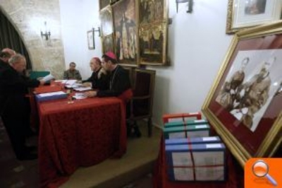 The closing of the diocesan inquiry into the healing of carmen perez pons, Valencia, May 2013. photo credit: elperiodico