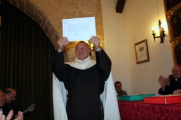 FATJER SANGALLI AT THE CLOSING OF THE DIOCESAN INQUIRY INTO CARMEN'S HEALING