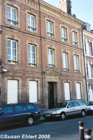 Isidore Guerin's home, 19 rue Paul Banaston, Lisieux