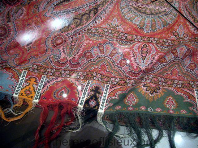 Zelie's shawl.  Photo courtesy of Susan Ehlert.