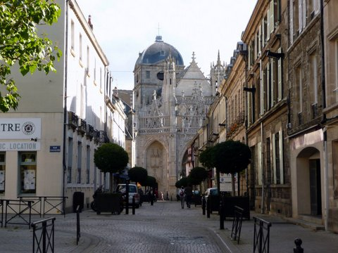 the church of notre dame of the assumption in alencon. in 2009, after the beatification of louis and zelie, it was named a basilica.