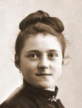 Therese Martin aged 15, in April 1888