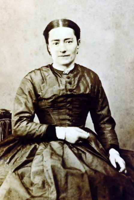 Zelie martin about 1875. photo courtesy of mme. f. besnier