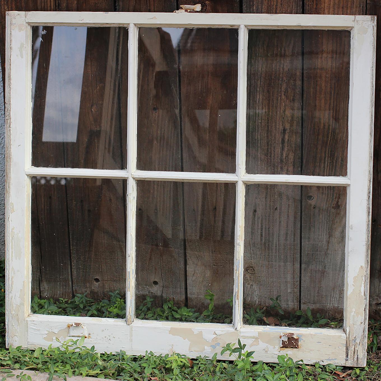 Vintage Wedding Window Panel