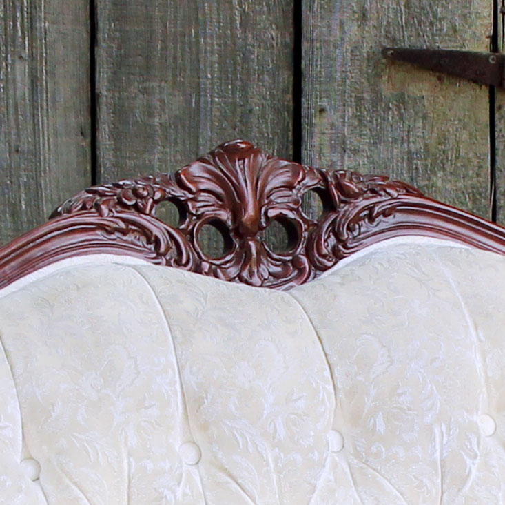 8ft Wide French Provincial Couch