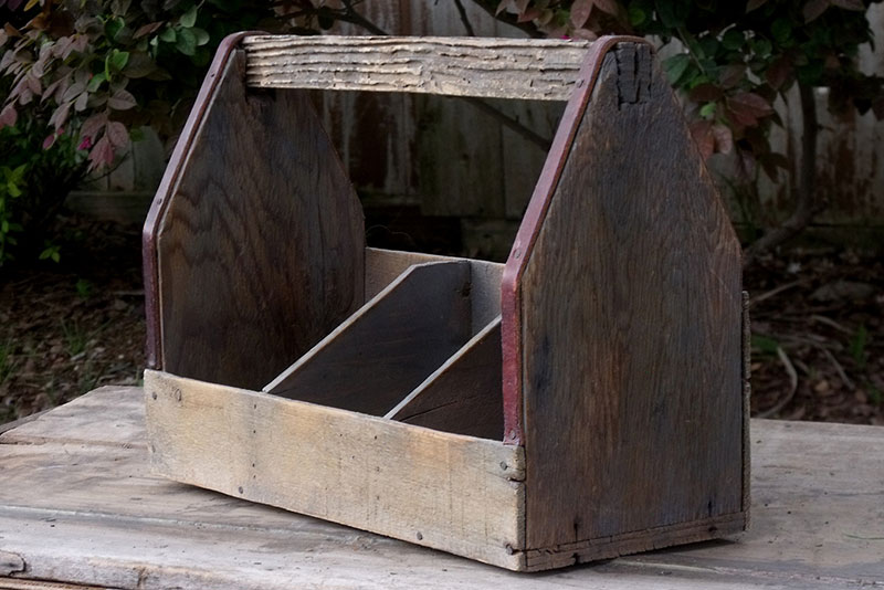 Small Wooden Toolbox