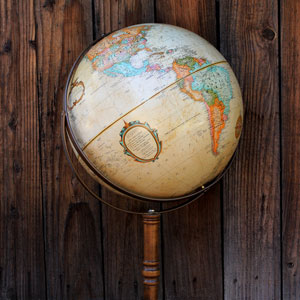 STANDING GLOBE - $25    MORE DETAILS & PICS...