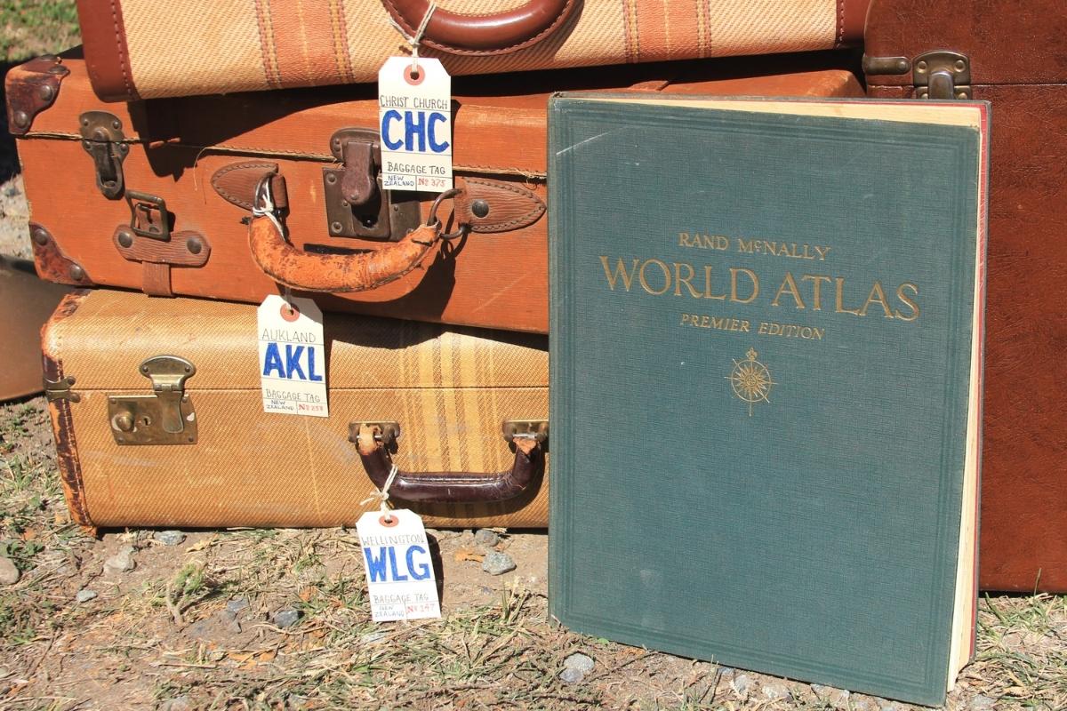 Vintage Rand McNally World Atlas