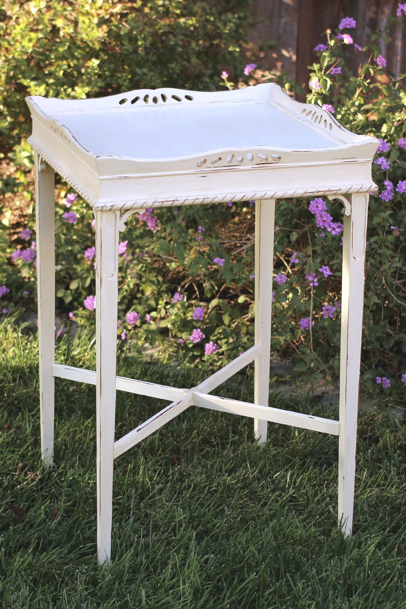 Side table, Tall, Square  with tray lip.jpg