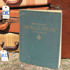 WORLD ATLAS - $10    MORE DETAILS & PICS...
