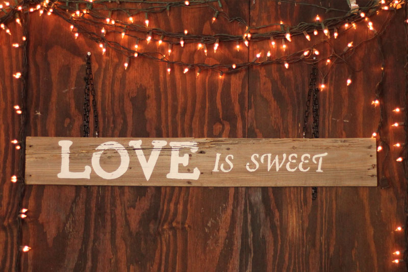LOVE IS SWEET - $15