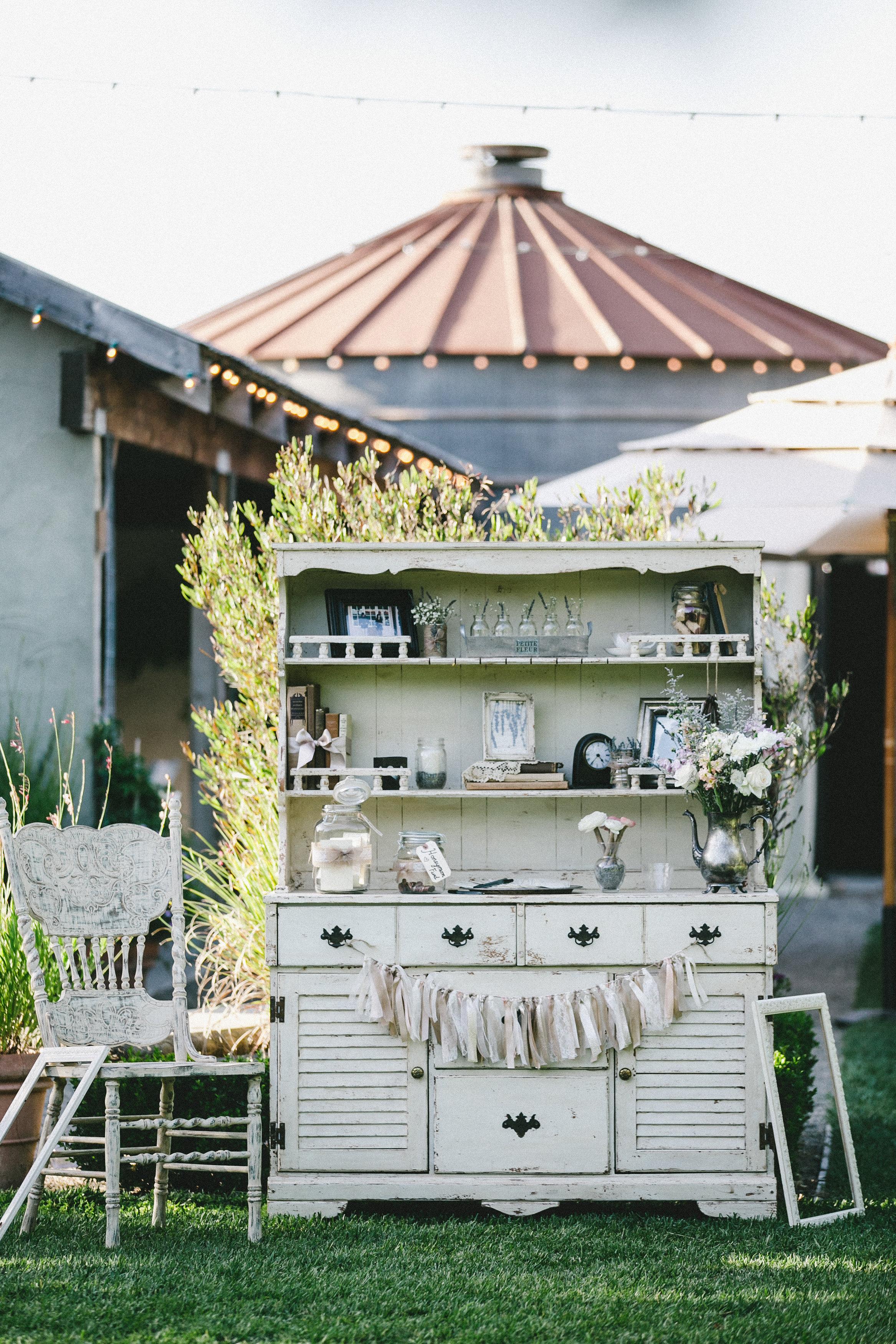 Pageo Lavender Farm Vintage Wedding Hutch