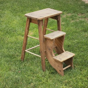 FOLDING STEP STOOL - $15    MORE DETAILS & PICS...