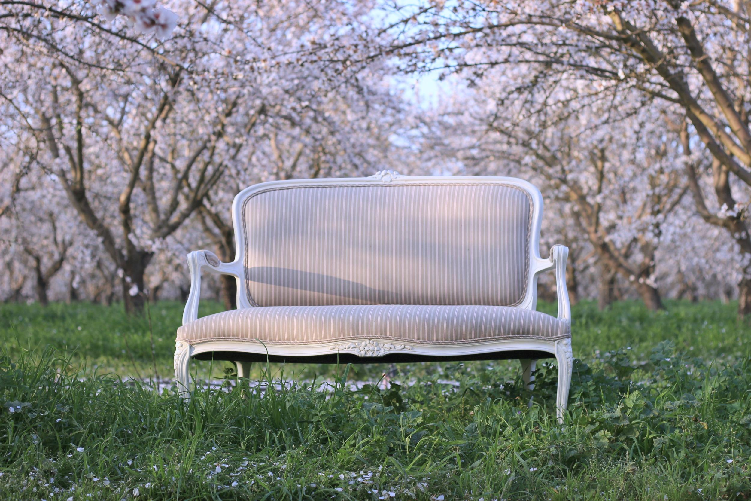 Vintage Wedding Rentals - Love Seat - Settee