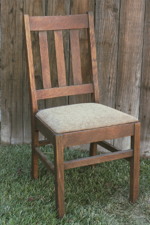 Wood Slat Chair   RENT FOR $15    MORE DETAILS & PICS...