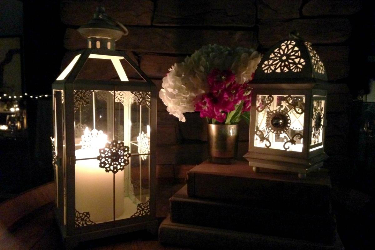 Candle Lantern Wedding decor rentals