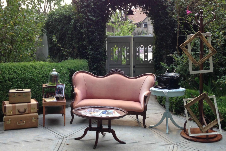 McHenry Mansion Wedding - Vintage Lounge