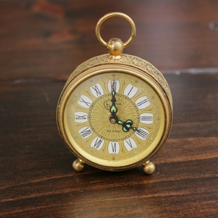 "Small ""Helbros"" Alarm Clock - $3    MORE DETAILS & PICS..."