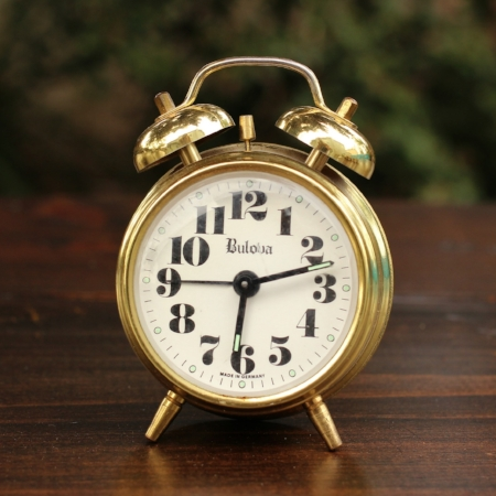 "Small ""Bulova"" Alarm Clock - $3    MORE DETAILS & PICS..."