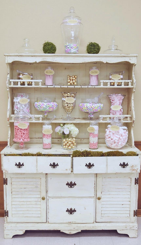 Vintage Wedding Candy Bar