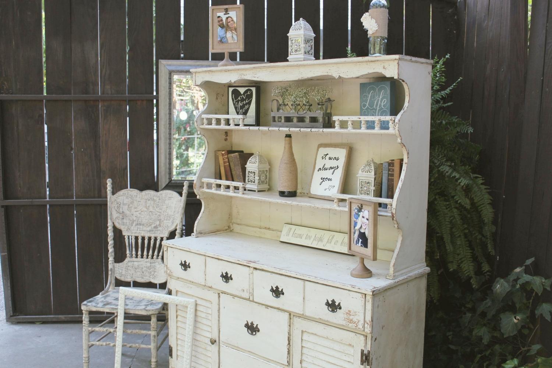 Vintage Wedding Furniture - Hutch