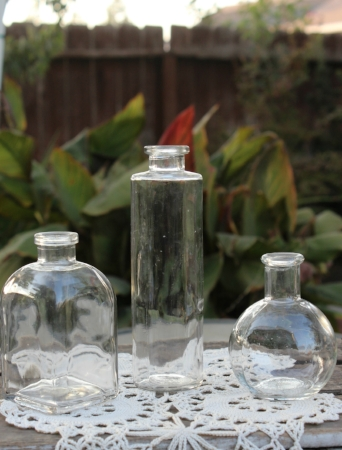 ASSORTED VASES FOR BUDS - $3.00 EACH  PRICE BREAK FOR QUANTITIES   MORE DETAILS & PICS...