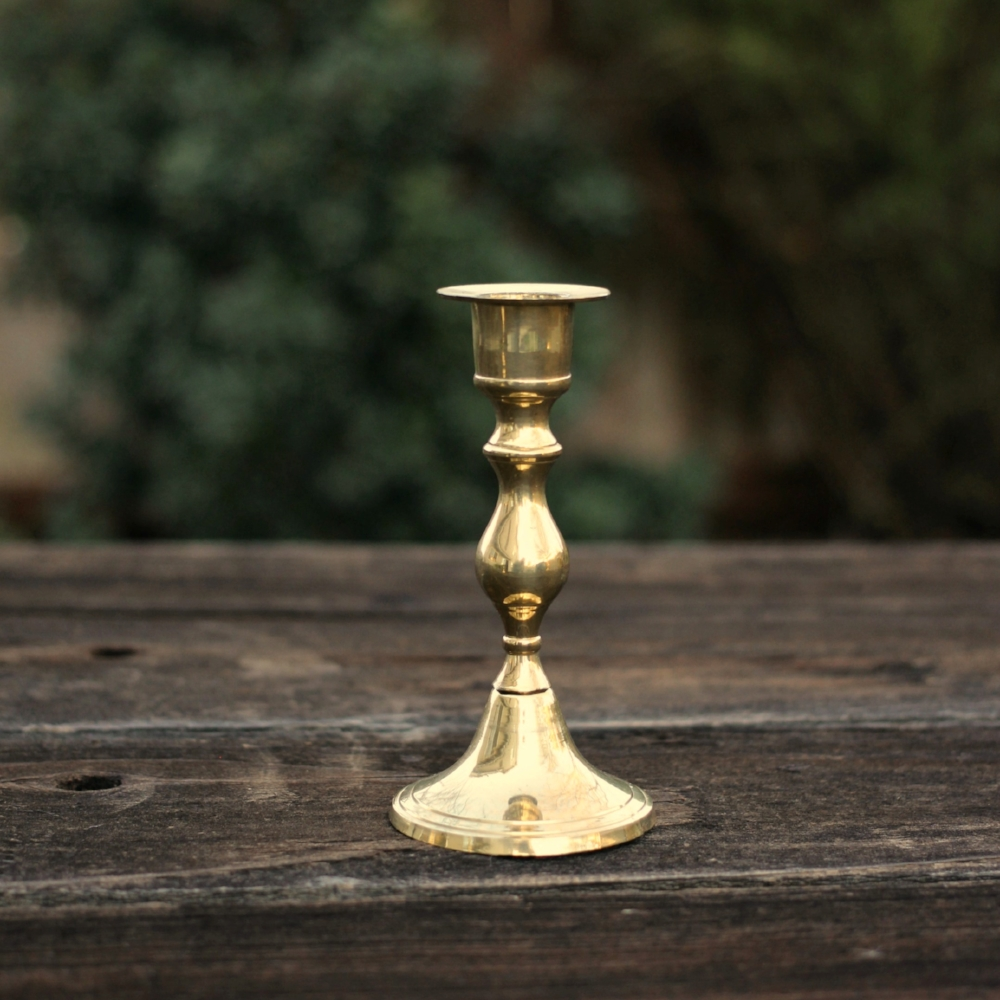 Mini Brass Candlestick