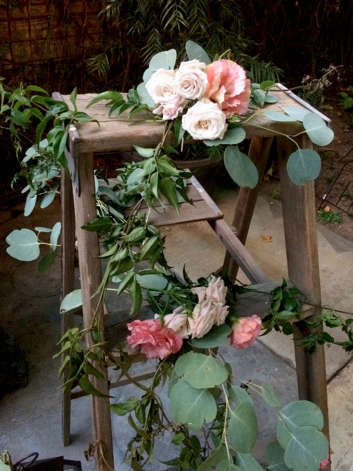 Wedding Ladder ideas