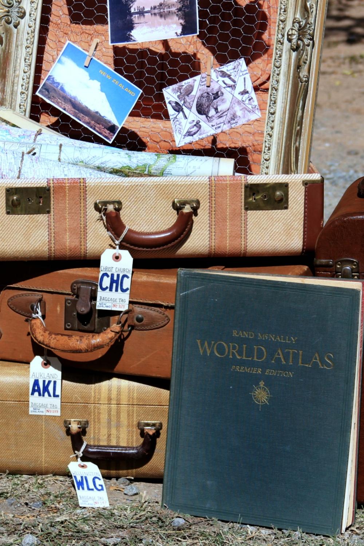 Travel Theme Wedding - Vintage Atlas