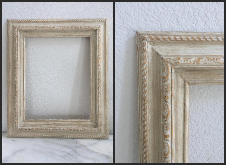 MED - ANTIQUED GREY ORNATE - 11 x 14 - $10