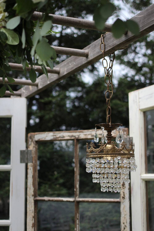 Pageo Farm Wedding - Vintage Ceremony Altar Backdrop