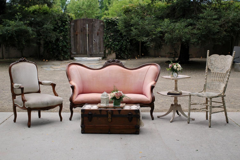 Pageo Farm Wedding - Vintage Lounge Area