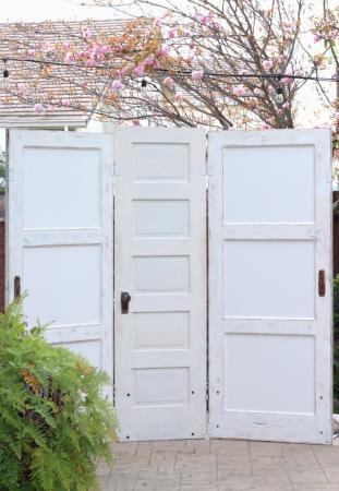 3 Panel Door Altar - $175
