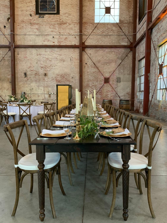 Old Sugar Mill Wedding - Farm Tables