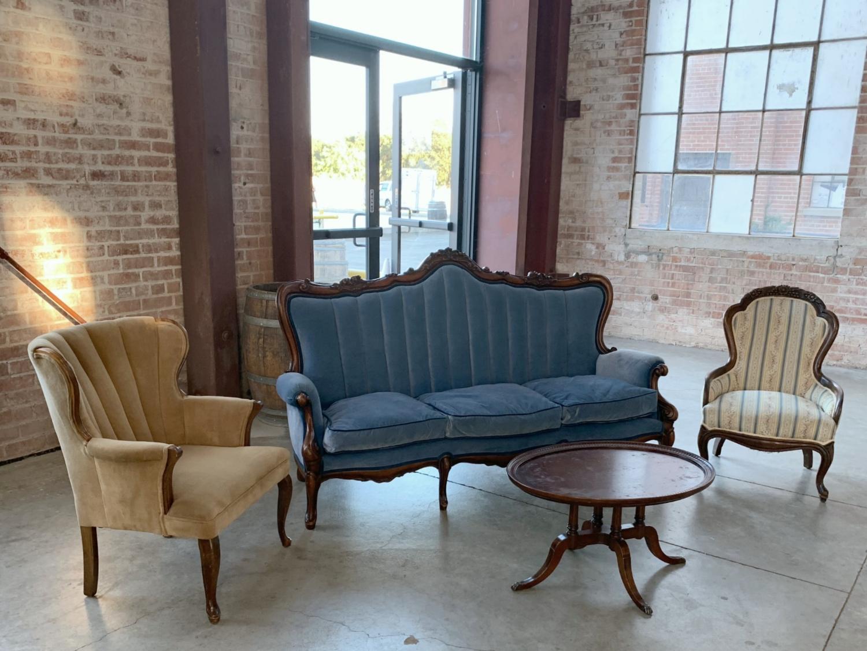 Old Sugar Mill Wedding - Vintage Guest Lounge