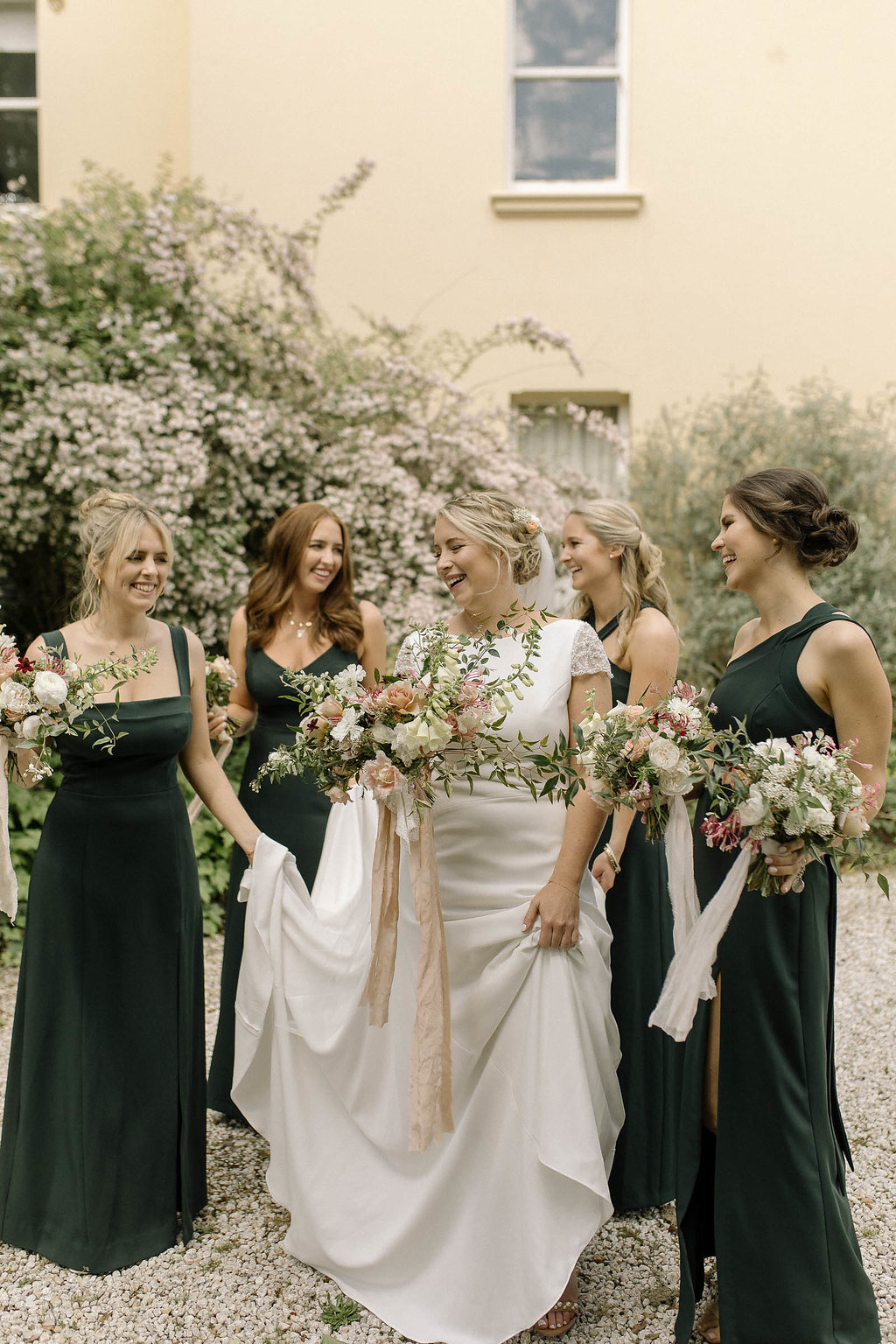 Oh Flora Studio.  Bride & Bridesmaids style. Bouquets .jpg