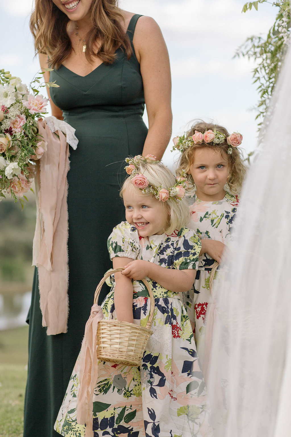Flower Girl : Southern Highlands Wedding : Oh Flora Studio : Sydney Wedding florist, design and planning.jpg