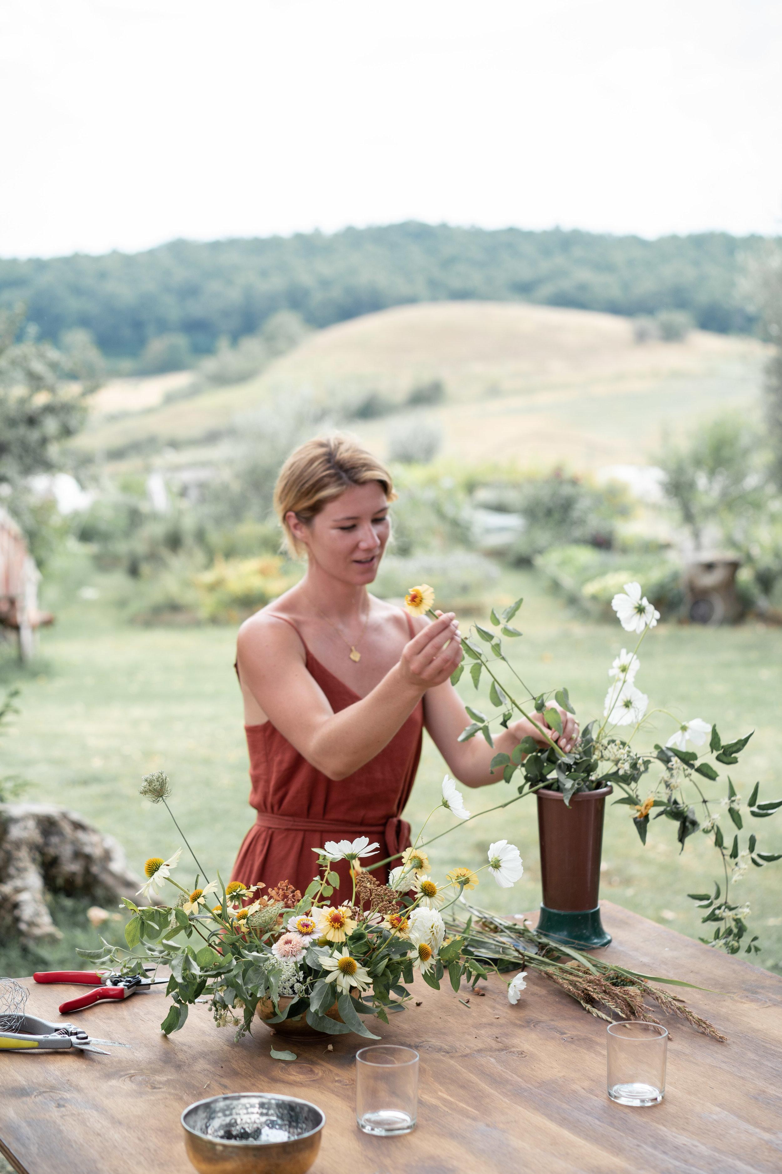 Oh Flora Workshop - A Tuscan Summer