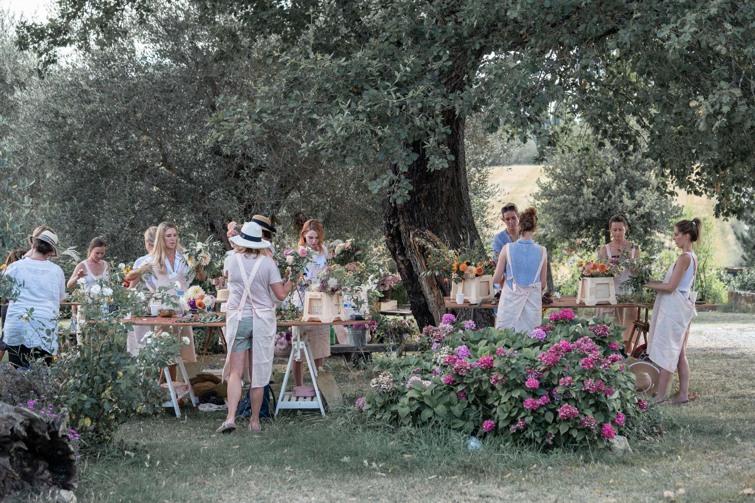Oh Flora Workshops