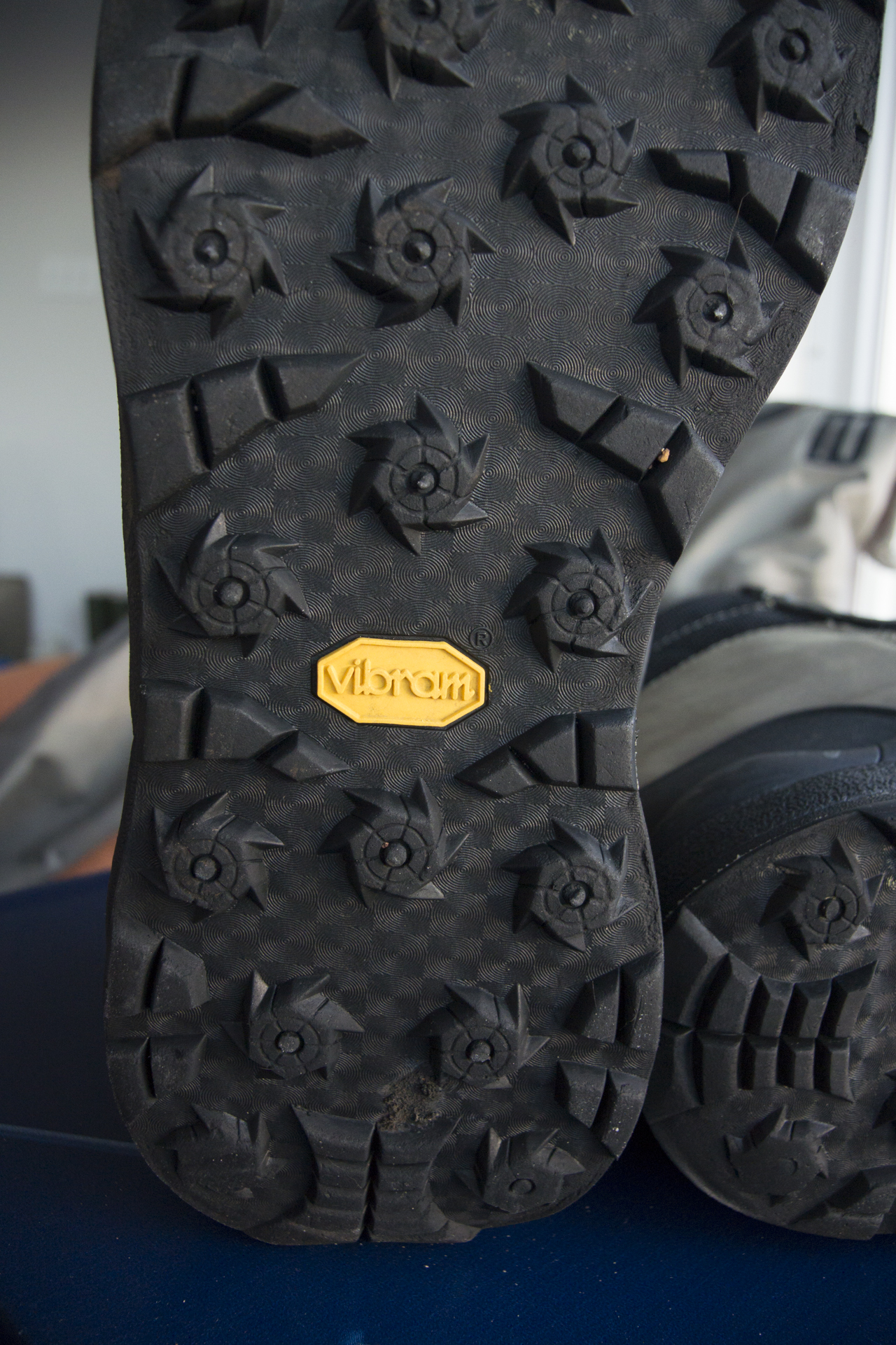 Korkers Omnitrax 3.0 Vibram Idrogrip Outsole  One of my favorite choices when studs or bars aren't needed.