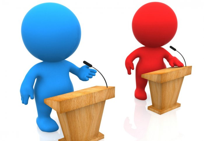 Argumentative essays and discussion texts are a great starting point for debating.