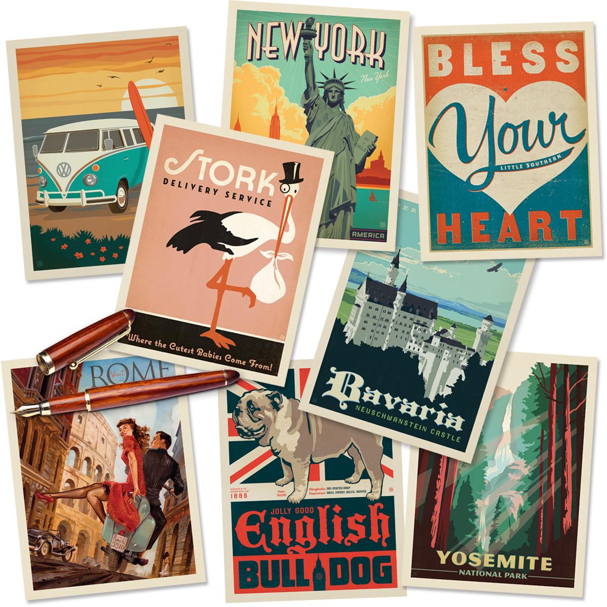 image regarding Printable Postcards Free named Cost-free Printable Postcard Template Literacy Designs