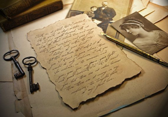 A well written letter can be both a piece of literature and art in your classroom