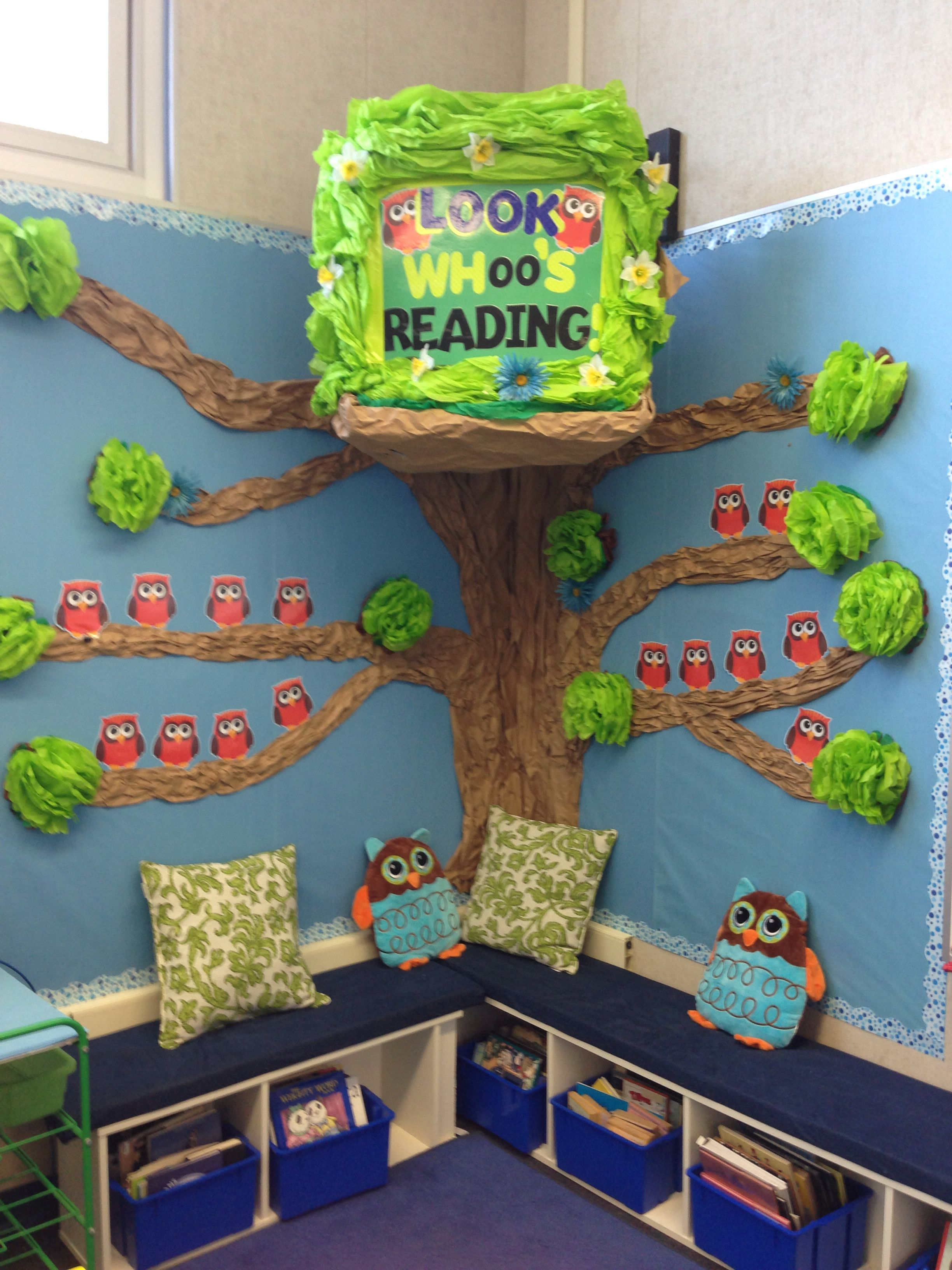An inviting reading area isn't essential, but it sure is engaging