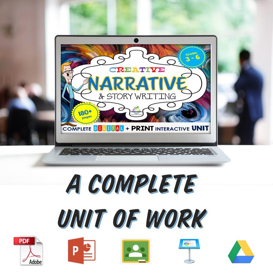 A complete solution to great narrative writing for teachers and students.