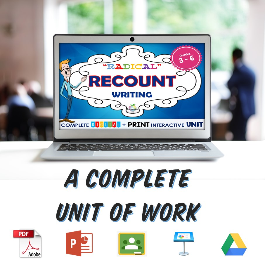The complete solution to recount writing